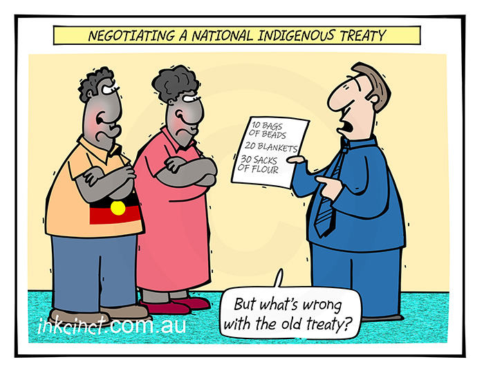 2020-077 What wrong with the old treaty, indigenous treaty - ABORIGINAL AUSTRALIA BALLARAT 2nd March copy
