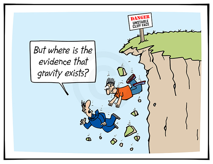 2021-054 But where is the evidence that gravity exists, cliff - WORLD 10th February