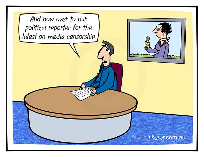 2019-411 The latest on political sensorship, gage news reporter - POLITICS AUSTRALIA WORLD 21st October