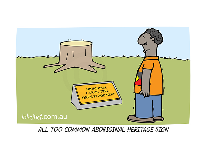2020-257P All too common aboriginal heritage sign. 31st July copy