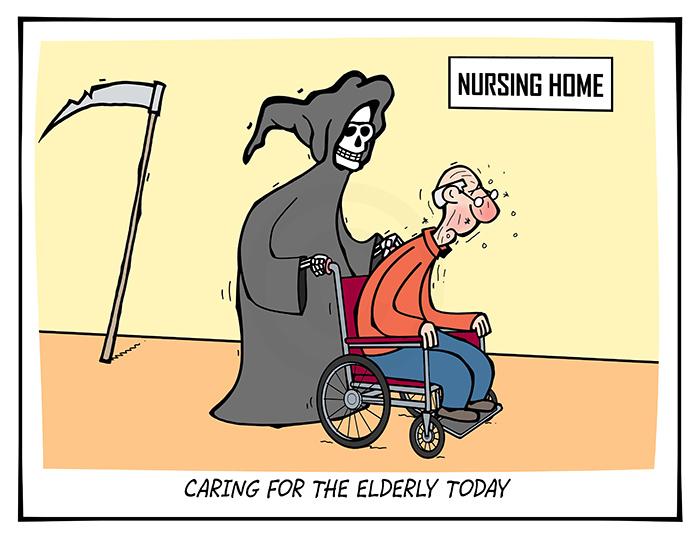 2020-258 Caring for the elderly today, death nursing home coronavirus - AUSTRALIA 31st July
