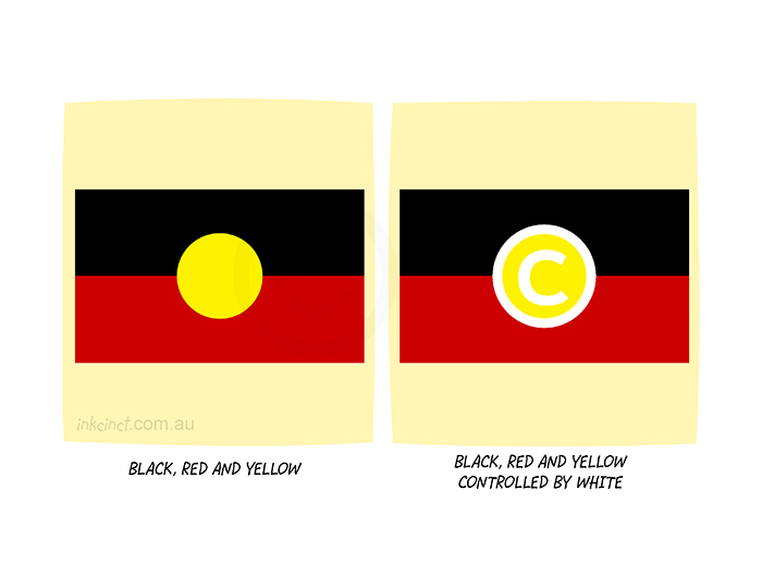 2020-287P Black red and yellow controlled by white, copyright. 20th August