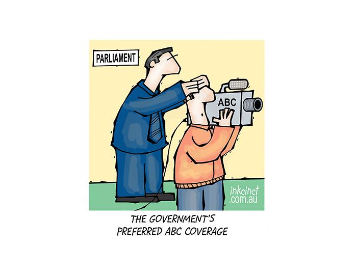 2018-124P The Government's preferred ABC news coverage - POLITICS AUSTRALIA 16th March