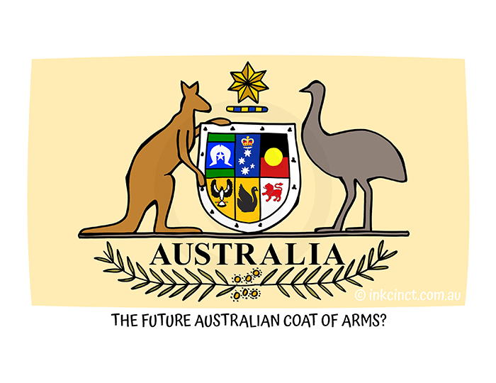 2021-218P THE FUTURE AUSTRALIAN COAT OF ARMS 05-Jul-21