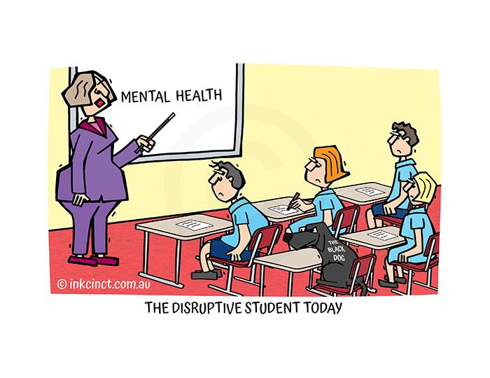 2021-239P The disruptive student today MENTAL HEALTH - MSC 20-Jul-21 copy