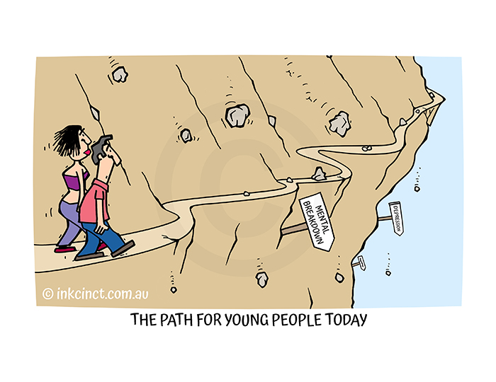 2021-241P The path for young people today DEPRESSION - MSC 22-Jul-21