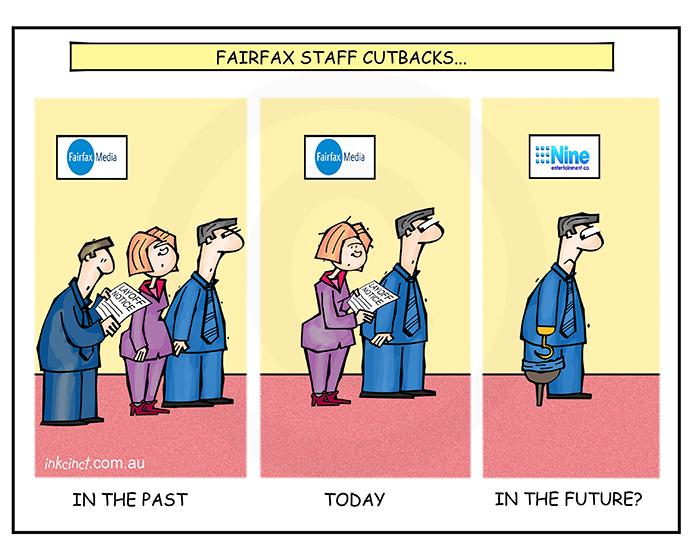 2018-347 Fairfax staff cutbacks, stump hook - IR SOCIAL MADIA AUSTRALIA 27th July