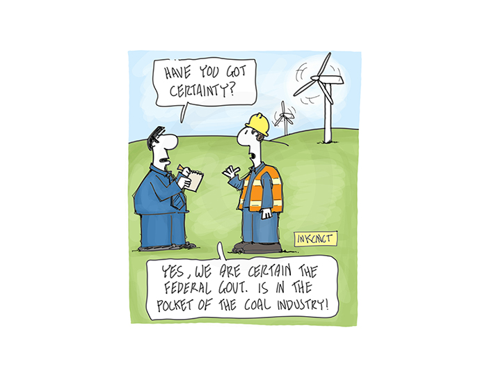 2016-568P Have you got certainty. Coal Federal government 7th October