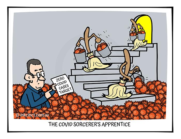 2021-306 The COVID Sorcerers Apprentice, DAN ANDREWS - MSC BALLARAT 02-Sep-21 copy