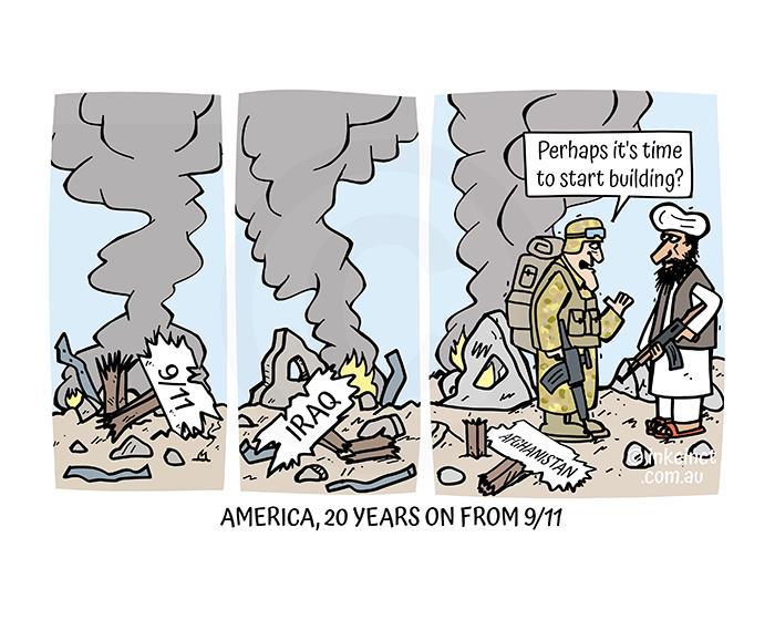 2021-312P AMERICA, TWENTY YEARS ON FROM 911 - MSC 07-Sep-21